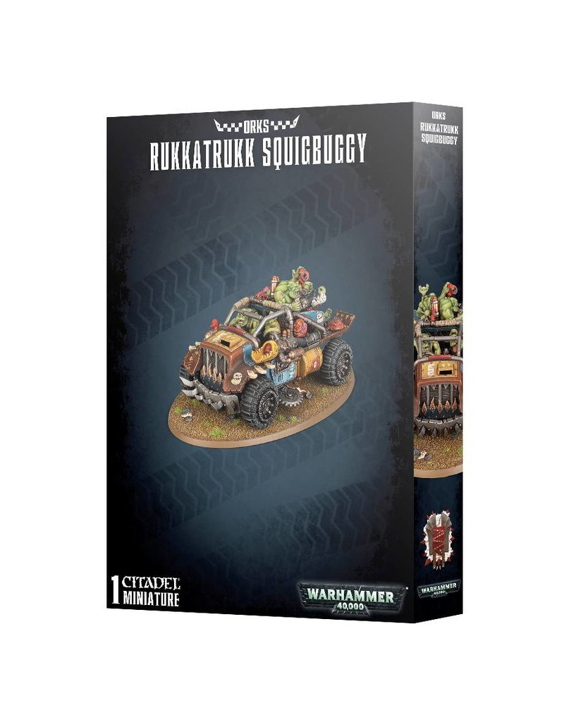 Games Workshop Orks Rukkatrukk Squigbuggy