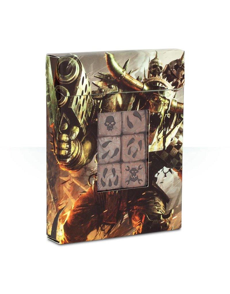 Games Workshop Warhammer 40k: Ork Dice