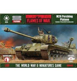 Battlefront Miniatures Pershing Platoon