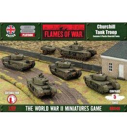 Battlefront Miniatures Churchill Tank Troop