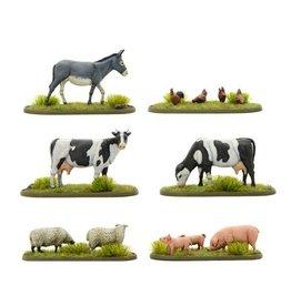 Warlord Games Farmyard Animals
