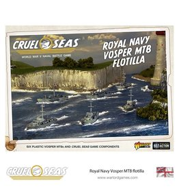 Warlord Games Royal Navy Vosper MTB Flotilla