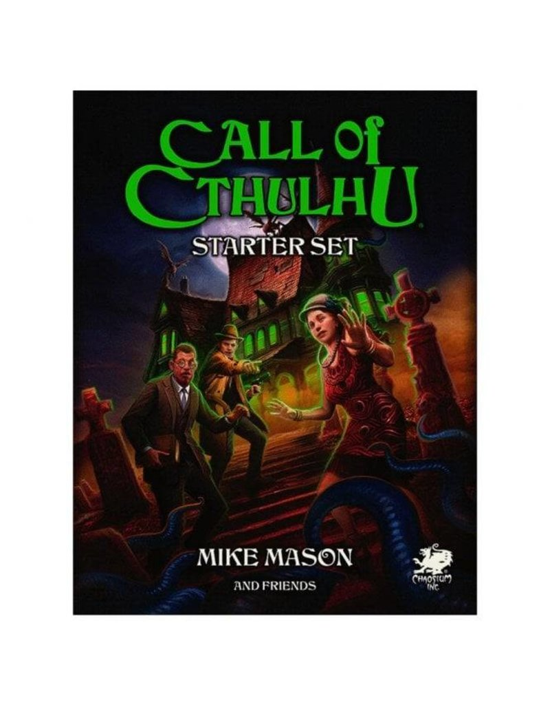 Chaosium Call Of Cthulhu 7th Edition Starter Set