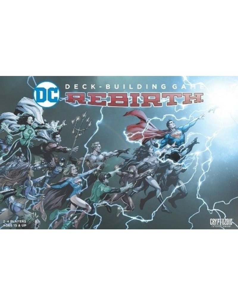 Cryptozoic Entertainment DC Deck Building Game: Rebirth