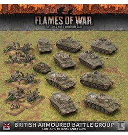 Battlefront Miniatures British Armoured Battle Group