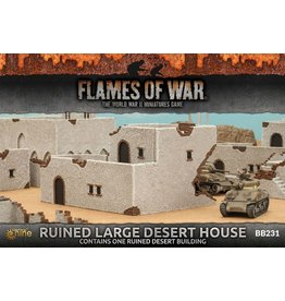 Battlefront Miniatures Ruined Large Desert House