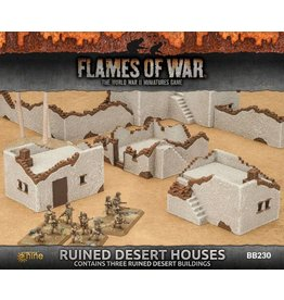 Battlefront Miniatures Ruined Desert Houses