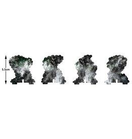 Battlefront Miniatures Smoke Bombardment Markers
