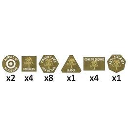 Battlefront Miniatures Afrika Korps Tokens