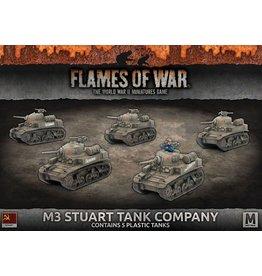 Battlefront Miniatures M3 Stuart Company