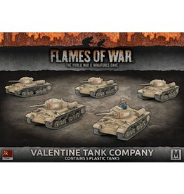 Battlefront Miniatures Valentine Tank Company