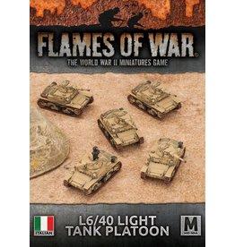 Battlefront Miniatures L6/40 Light Tank Platoon