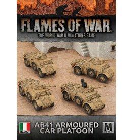 Battlefront Miniatures AB41 Armoured Car Platoon