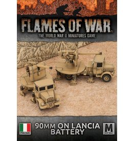 Battlefront Miniatures 90mm on Lancia Anti-tank Battery