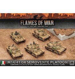 Battlefront Miniatures M14/41 or Semovente Platoon