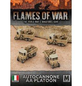 Battlefront Miniatures Autocannone 20mm AA Platoon