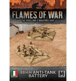 Battlefront Miniatures 88mm Anti-tank Battery