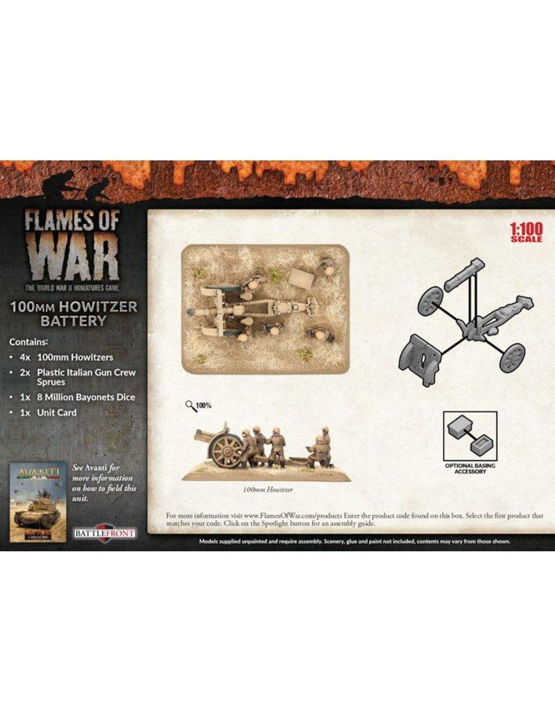 Buy 100mm Howitzer Battery Online | Avanti | Flames Of War