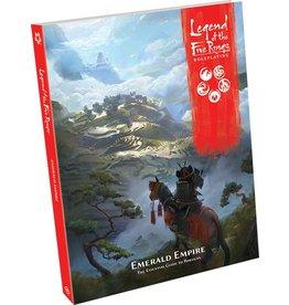 Fantasy Flight Games L5R RPG: Emerald Empire Guide Book