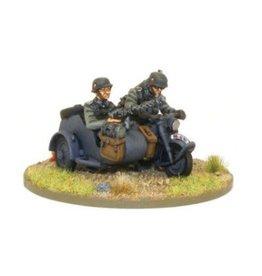 Warlord Games Kradschutzen Motorcycle Combination (1939-1942)