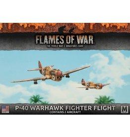 Battlefront Miniatures P-40 Warhawk Fighter Flight