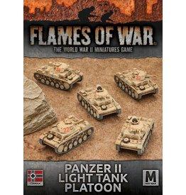 Battlefront Miniatures Panzer II Light Tank Platoon
