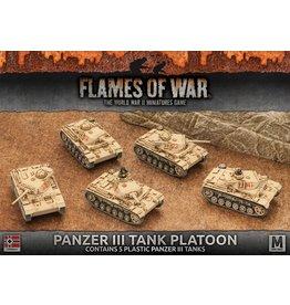 Battlefront Miniatures Panzer III Tank Platoon