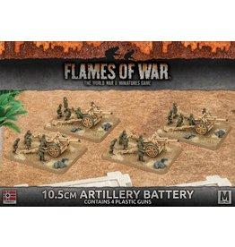 Battlefront Miniatures 10.5cm Artillery Battery