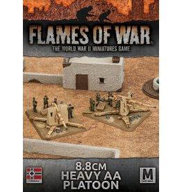 Battlefront Miniatures 8.8cm Heavy AA Platoon