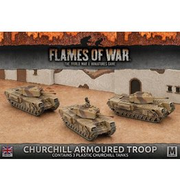 Battlefront Miniatures Churchill Armoured Troop