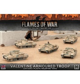 Battlefront Miniatures Valentine Armoured Troop