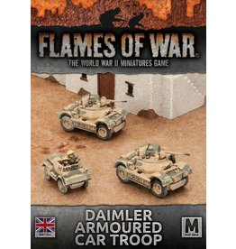 Battlefront Miniatures Daimler Armoured Car Troop