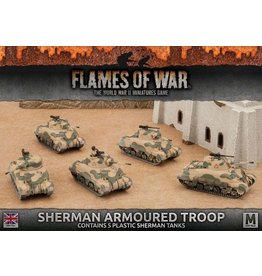 Battlefront Miniatures Sherman Armoured Troop