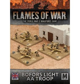 Battlefront Miniatures Bofors Light AA Troop