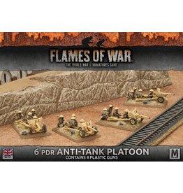 Battlefront Miniatures 6pdr Anti-tank Platoon