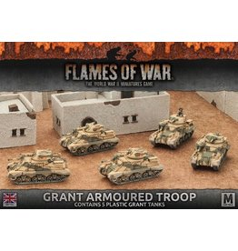 Battlefront Miniatures Grant Armoured Troop