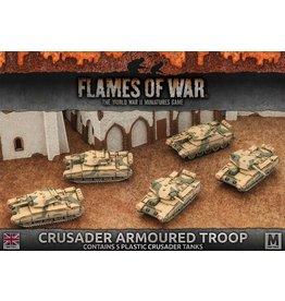 Battlefront Miniatures Crusader Armoured Troop