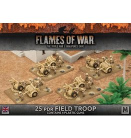 Battlefront Miniatures 25pdr Field Troop