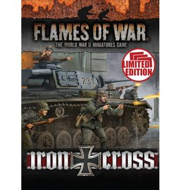 Battlefront Miniatures Iron Cross Unit Cards