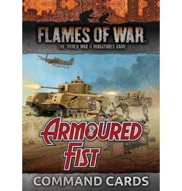 Battlefront Miniatures Armoured Fist Command Cards