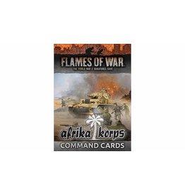 Battlefront Miniatures Afrika Korps Command Cards