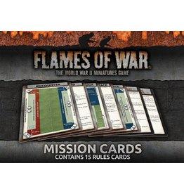 Battlefront Miniatures Mission Cards