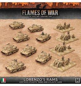Battlefront Miniatures Lorenzo's Rams