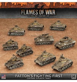 Battlefront Miniatures Patton's Fighting First