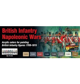 Warlord Games British Napoleonic Paint Set