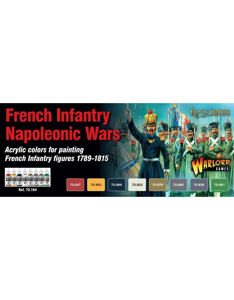 Warlord Games Black Powder: French Napoleonic Paint Set