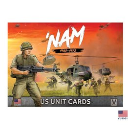 Battlefront Miniatures US 'NAM Unit Card Pack