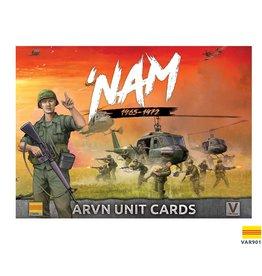 Battlefront Miniatures ARVN 'NAM Unit Card Pack