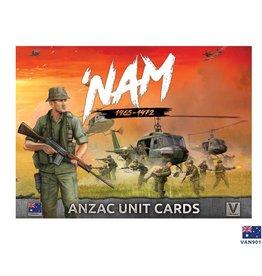 Battlefront Miniatures ANZAC 'NAM Unit Card Pack