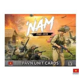 Battlefront Miniatures PAVN 'NAM Unit Card Pack